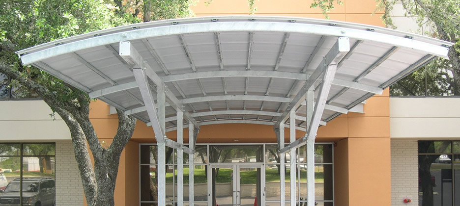 Entrance Canopies Uk & Commercial Canopies Installed Repaired and Serviced Uk