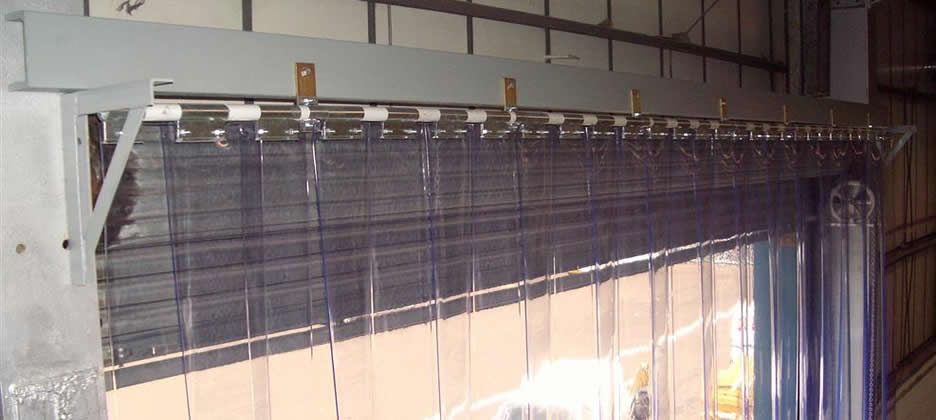Pvc Strip Curtains Installed Repaired And Serviced Uk